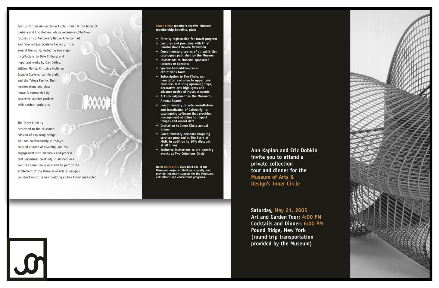 Museum of Arts and Design Invitation