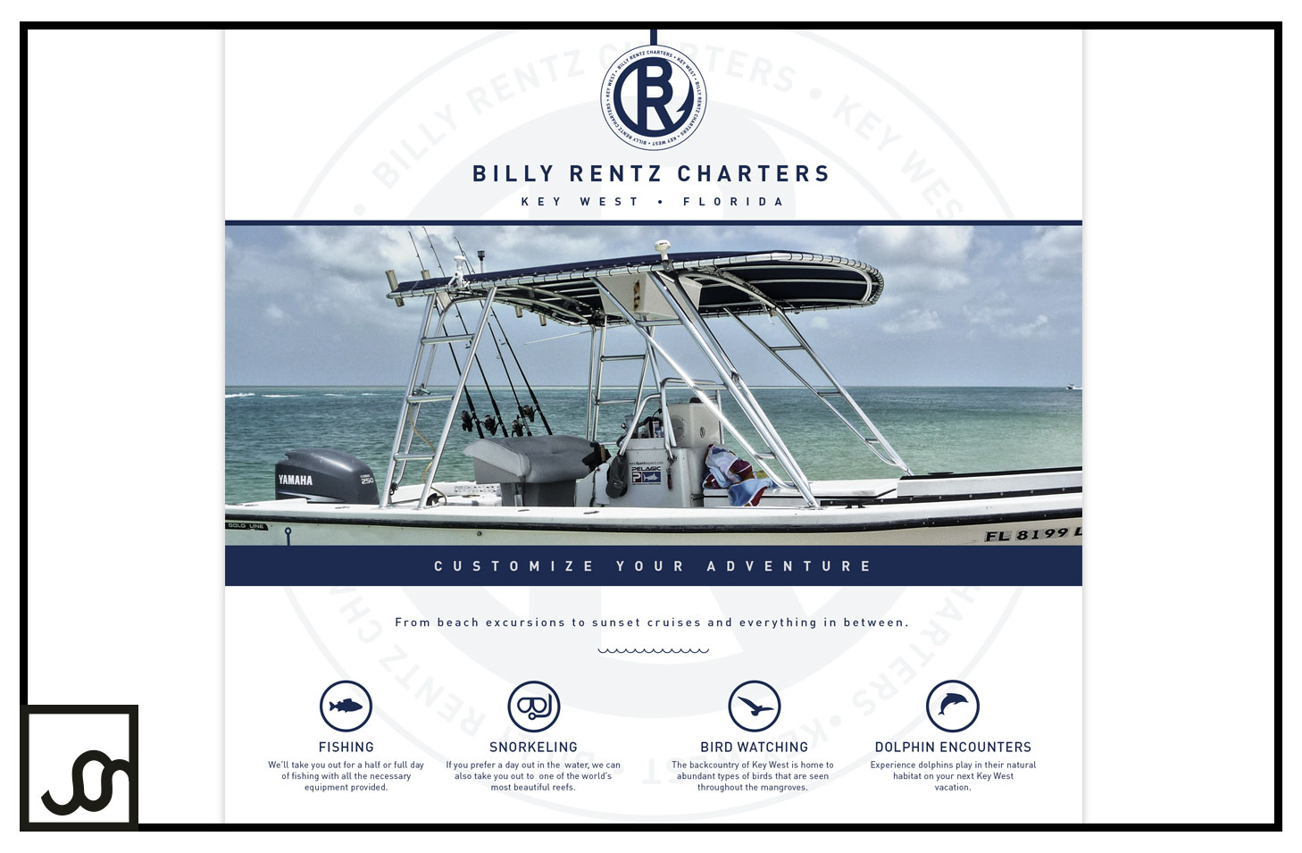 Billy Rentz Charters Web Page