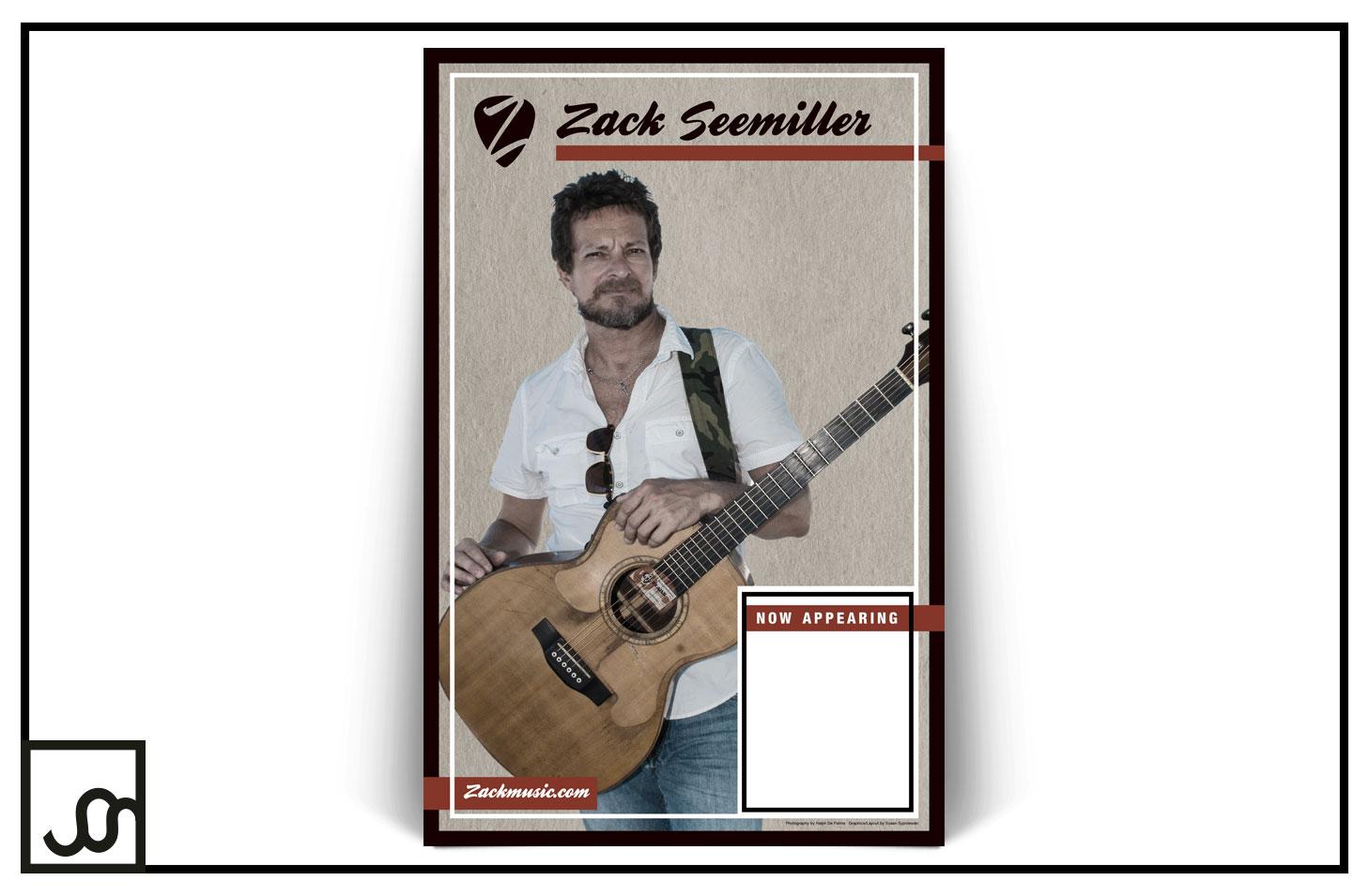 Zack Seemiller Promo Poster