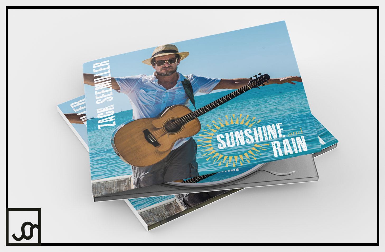 Zack Seemiller Sunshine and Rain CD Cover